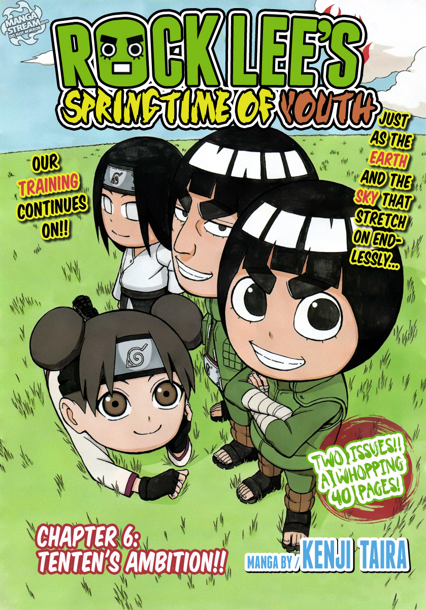 Japan Manga Translation - Naruto - rock-lee-06 - Rock Lee's Springtime of Youth - 0